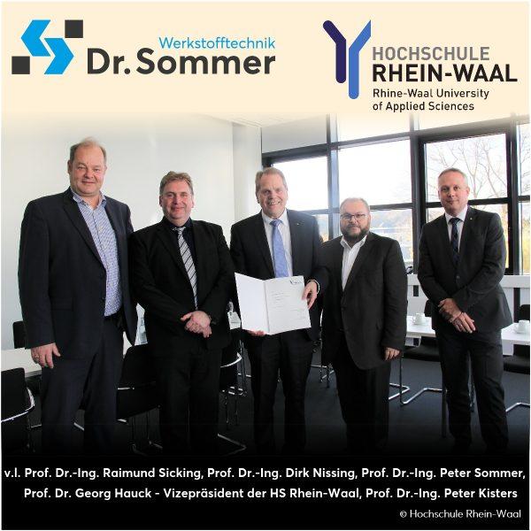 Dr. Peter Sommer zum Honorarprofessor ernannt…